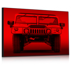 LED panel 1-color GR SMD (164x68 cm)