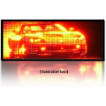 LED panel 1-color GT Hermetic (134x27 cm)