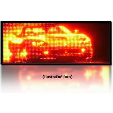 LED panel 1-color GT Hermetic (437x27 cm)